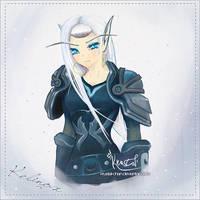 Kelinox OC by krustal-chan
