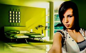 Green Room by SandyCris91