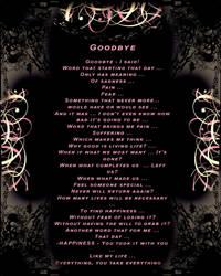 Goodbye by SandyCris91