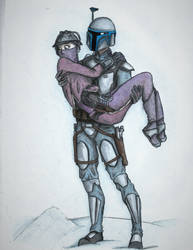 Jango x Zam by MandoHillBilly
