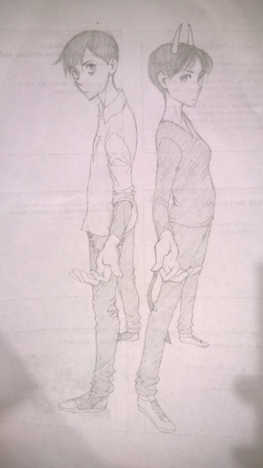 The Twins by alizawren