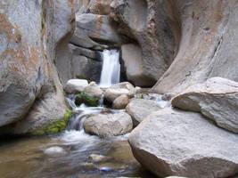 Waterfall in a Canyon II by Tkrain