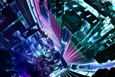 Electric City by aDeeperB1ue