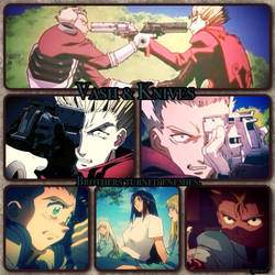 Vash and Knives by Syleria11