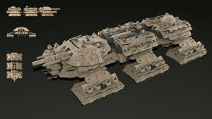 Behemoth Terrestrial Dreadnought full render v1 by Leonitus