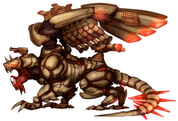 Hell Lord, Wyrm species, 5th Hierarch by Leonitus