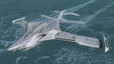 'Forsaken' Faction - 'Kwane' Aero/Space Fortress by Leonitus