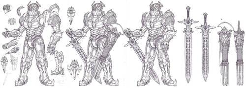 Tsviet Prince NRTO Royal Aeon Battle Suit v1 by Leonitus