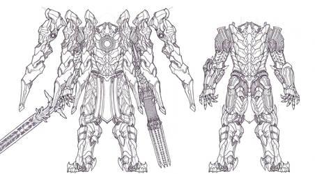 Tsviet Prince NRTO Royal Aeon Battle Suit v2 by Leonitus