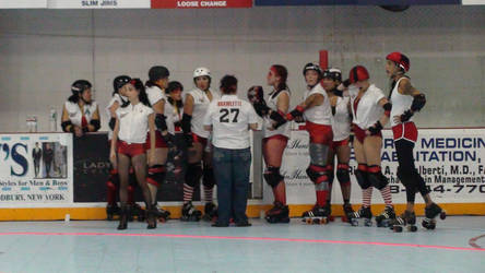 Long Island Roller Rebels by TrinaryOuroboros