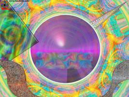 Conscious Solar Winds by TrinaryOuroboros