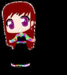 Chibi  arc en ciel ! Chibi rainbow ! by Lucyheartfilia9485