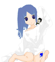 juvia and littel grey xD by Lucyheartfilia9485