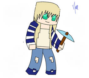 me on minecraft !!!! by Lucyheartfilia9485