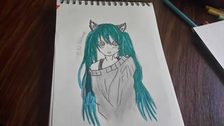 miku !!!!! by Lucyheartfilia9485