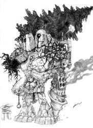 the Earth Titan by doggerman
