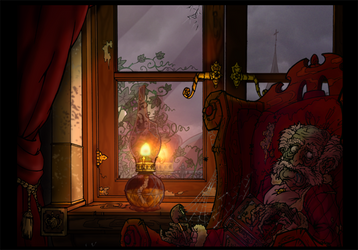 The night I found Grampa Dead. by doggerman