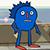 Sanic Hedgehog Emote 1