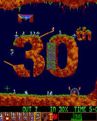 30th Birthday Lemmings by StugMeister