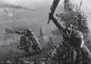 Wh40K: Feral Orks by StugMeister