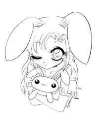 Bunny girl by luzhikaru