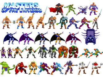 Motu Sprite Sheet One by Innershade