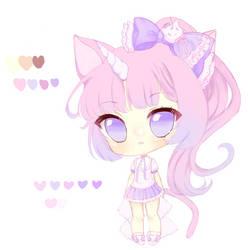 [adopt open!] kittycorn set price by Purrsephone-Kitten