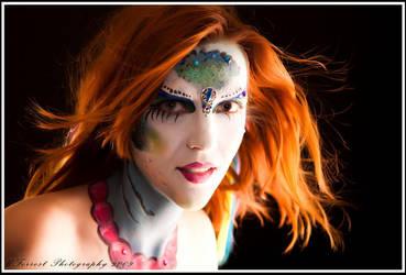 Firey Mermaid by KayNS