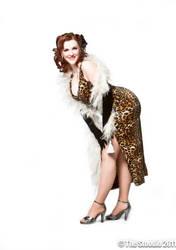Leopard Dress 1 by KayNS