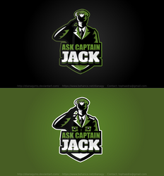 Captain Jack Label Logo by DianaGyms