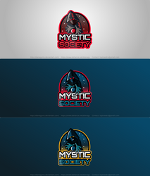 Mystic Society Esport Team Logo by DianaGyms