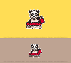 Panda Shop City Logo by DianaGyms