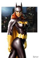 Batgirl by RaffaeleMarinetti
