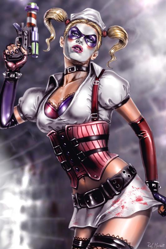 Harley Quinn by RaffaeleMarinetti