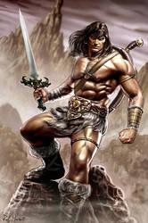 Conan the Barbarian by RaffaeleMarinetti