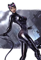 Catwoman 21c by RaffaeleMarinetti
