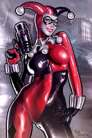 Harley Quinn t0025 by RaffaeleMarinetti