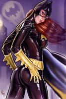 Batgirl k009 by RaffaeleMarinetti