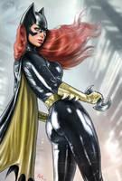 Batgirl rt09 by RaffaeleMarinetti