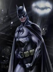 Batman color by RaffaeleMarinetti