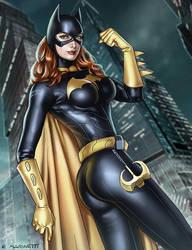 Batgirl T890 by RaffaeleMarinetti