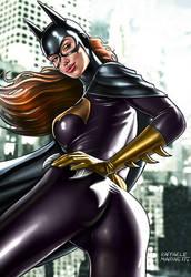 Batgirl t444 by RaffaeleMarinetti
