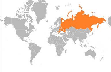 Christianity Orthodox Christianity Map By Smileysmiley20 On Deviantart