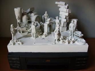 Technological Detritus I by ARTmonkey90