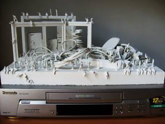 Technological Detritus II by ARTmonkey90