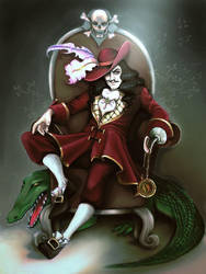 Captain Hook by Roolka