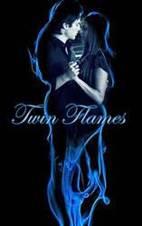 Damon and Elena - Twin Flames by LadyRaw90