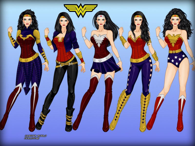 Wonder Woman All Costumes