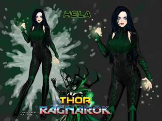 Hela the Death Queen (Thor Ragnorak) by LadyRaw90