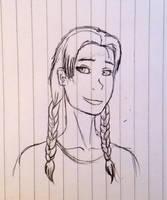Jessica scetch by Redspets